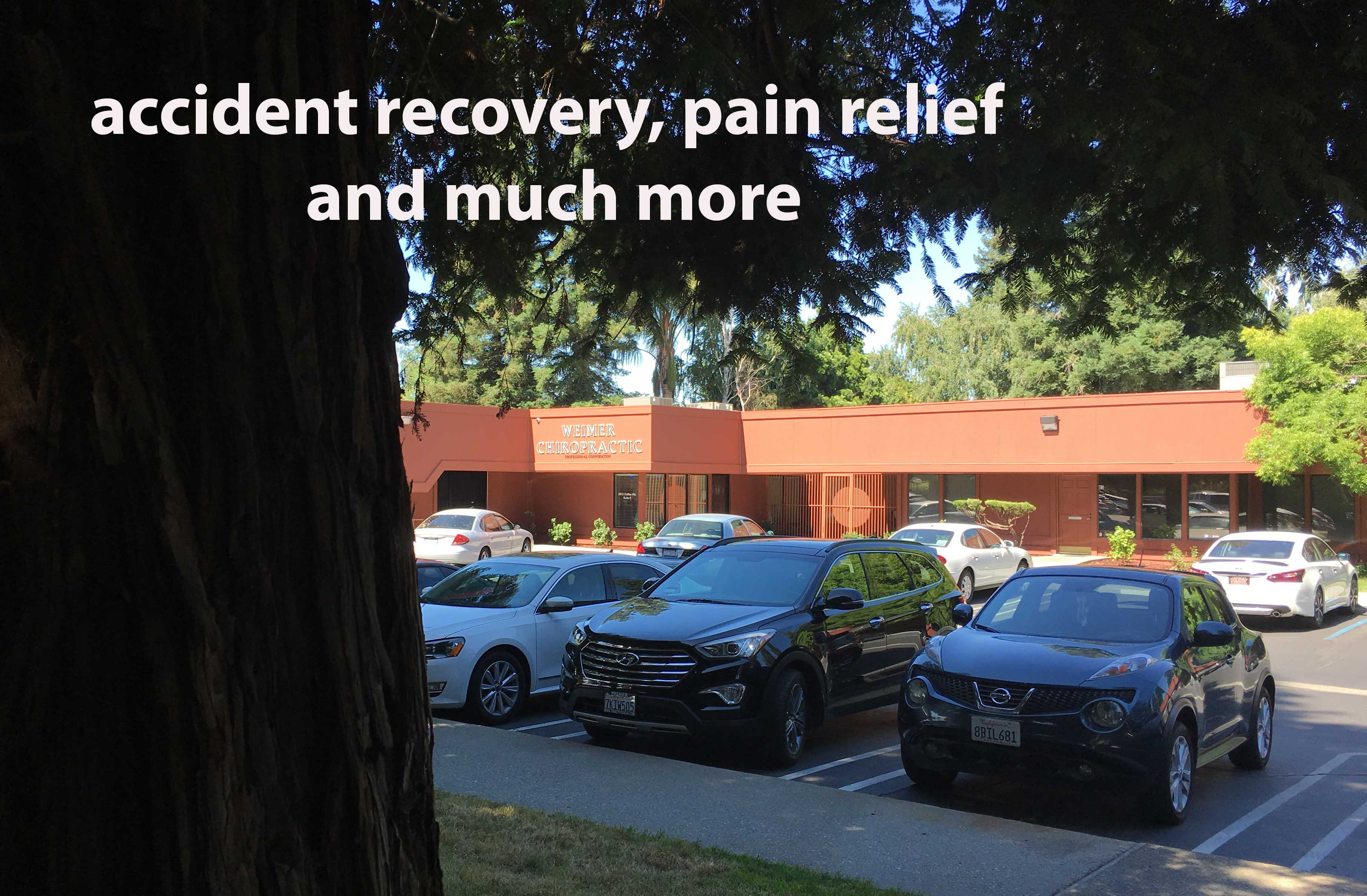 Weimer Chiropractic specializes in accident recovery.