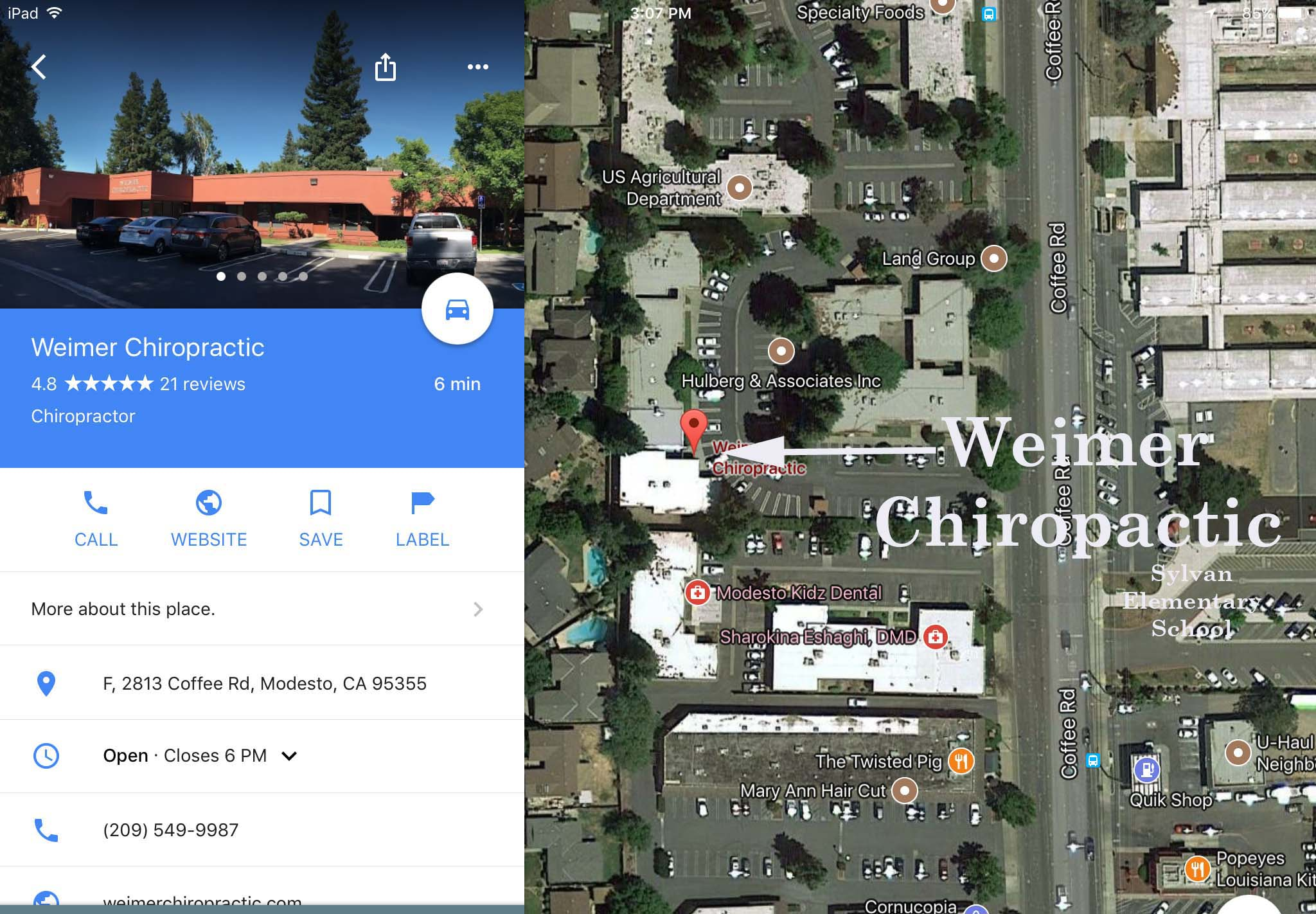 Weimer Chiropractic_Office